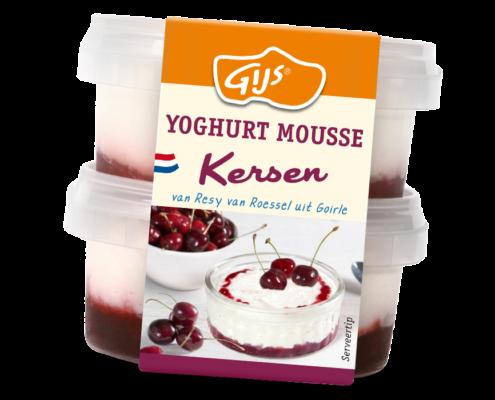 GIJS Streekproducten Yoghurt Mousse Kersen